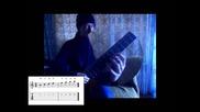 Базов курс по китра I Тонове по грифа Част 1