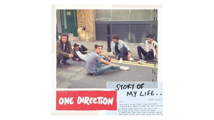 Н О В А Песен + Превод !! One Direction - Story of My Life (audio)