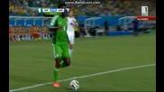 Нигерия 1:0 Босна и Херцеговина (бг аудио) Мондиал 2014