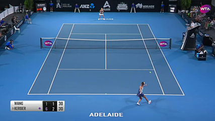 Wang Qiang vs. Angelique Kerber 2020 Adelaide First Round Wta Highlights 1080p