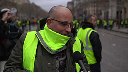 France: Yellow Vest protesters refute 'We Want Trump' chant claim