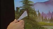 S03 Радостта на живописта с Bob Ross E12 - скрито езеро ღобучение в рисуване, живописღ