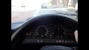 Bmw E30 M3 cabrio on street