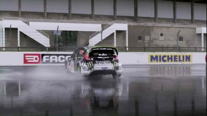 Ken Block - Gymkhana Three - Ford Fiesta 650 Hp