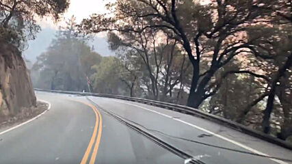 USA: Glass Fire rages in California's Napa and Sonoma counties