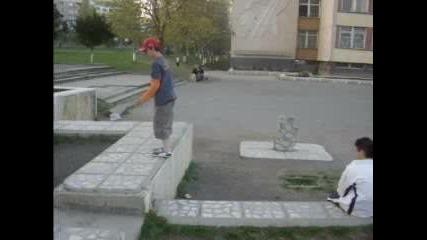 Мишо Прави Back Flip