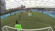 Защитни тактики за футбол на малки врати