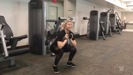 "Alexa Bliss sculpts her ""Goddess"" physique in cardio and strength workout: SummerSlam Diary"