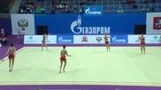 Златен медал за България - Художествена гимнастика - Гран При Москва 2015