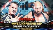 Wwe Payback [ Разплата ] 2013 шампиона на федерацията John Cena срещу Ryback мач с линейка