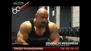 Muscletech - 60 Seconds on Muscle - Branch Warren - Tricep Pushdowns