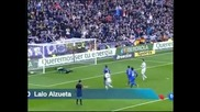 """""""Реал"""" (Мадрид) загря за мача с """"Барселона"""" с 4 гола за едно полувреме срещу """"Хетафе"""""""