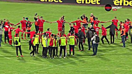 Радост като за финал в лагера на ЦСКА