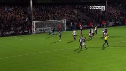 Scunthorpe 2 – 5 Manchester United [carling Cup]