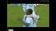 16.04 Манчестър Сити - Хамбургер 2:1 Фелипе Кайседо гол