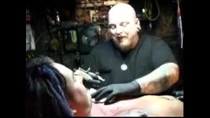 Dani Filth Paul Booth Tattoo