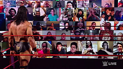 Matthew McConaughey cheers on Drew McIntyre in WWE ThunderDome: Raw, Oct. 26, 2020