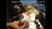 Как се сменя двигателното масло и правилната му проверка на Susuki Burgman 400