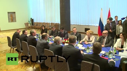 Serbia: Lavrov in Belgrade for talks with Serbian FM Dacic