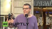 Spain: Long live Greece! Barcelona rallies against bailout agreement