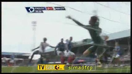 Portsmouth - Man City 0:1 Адебайор отбеляза единствения гол за успеха на Гражданите