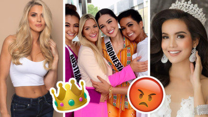 Жесток скандал на Мис Вселена! Американска миска нагруби грозно колежка