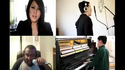4 Човека изпълняват невероятно песента на Bob Ft Hayley Williams - Airplanes