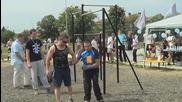 Димитър Мизов - Първо участие на турнир по Street Workout