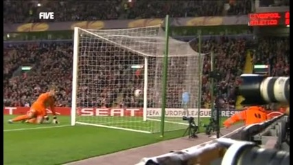 liverpool - 1 - 0 - Atletico Madrid - Alberto Aquilani