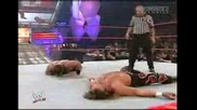 Raw 2004 - Chris Benoit Vs Edge Vs Shawn Michaels