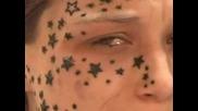Жена се събужда с татуирано лице