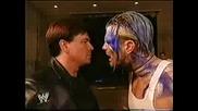 Jeff Hardy Backstage