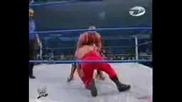 Chris Benoit Vs Rey Mysterio Vs Kurt Angle