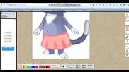 Как да нарисуваме дрешки за jivotno.com