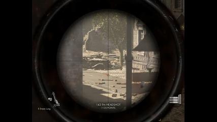 Sniper Elite v2 - My Gameplay part 1