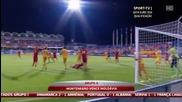 Черна гора 2:0 Молдова 08.09.2014
