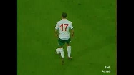Bulgaria - Croatia 2 - 0 Димитър Бербатов