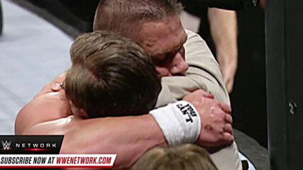 John Cena and his dad discuss their tender moment at Unforgiven 2006: WWE Untold sneak peek