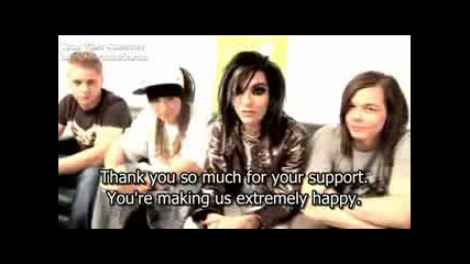 Tokio Hotel Say Thank You For The Ema - Sub