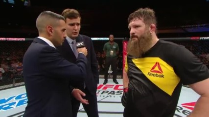 Fight Night Brasilia - Roy Nelson Octagon Interview