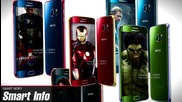 Android M, Iron Man Galaxy S6 и телефон без рамка