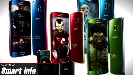Android M, Iron Man Galaxy S6 и телефон без рамка