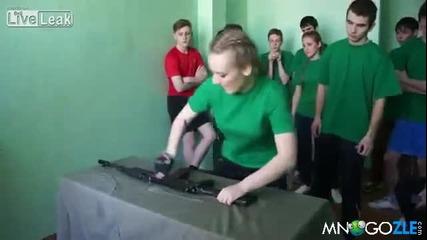 Военна подготовка на руски ученици