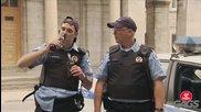 Смях! Пияни полицаи - скрита камера