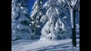 Коледна елха - Акварела