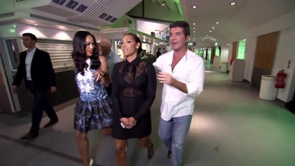 Mel B is feeling hungry - The Xtra Factor Uk 2014