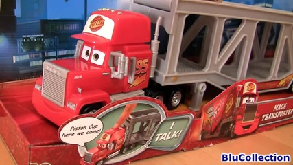 Talking Mack the Truck Hauler from Disney Pixar Cars