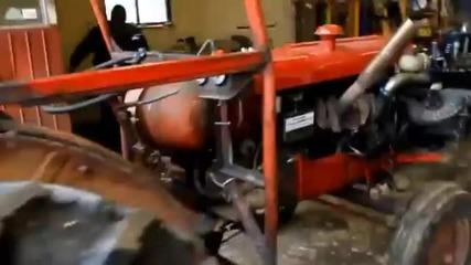 ето какво прави голямо турбо с ваша трактор