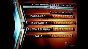 Словакия изхвърли световния шампион Италия / Словакия 3:2 Италия World Cup 2010