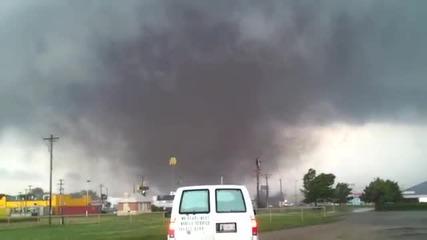 Образуване на Торнадо